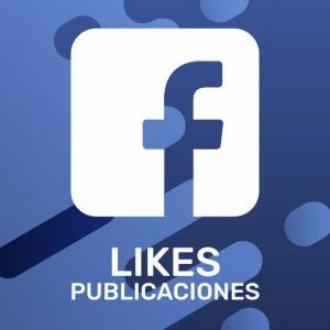 Likes Publicaciones Facebook