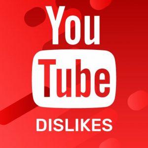 Dislikes YouTube
