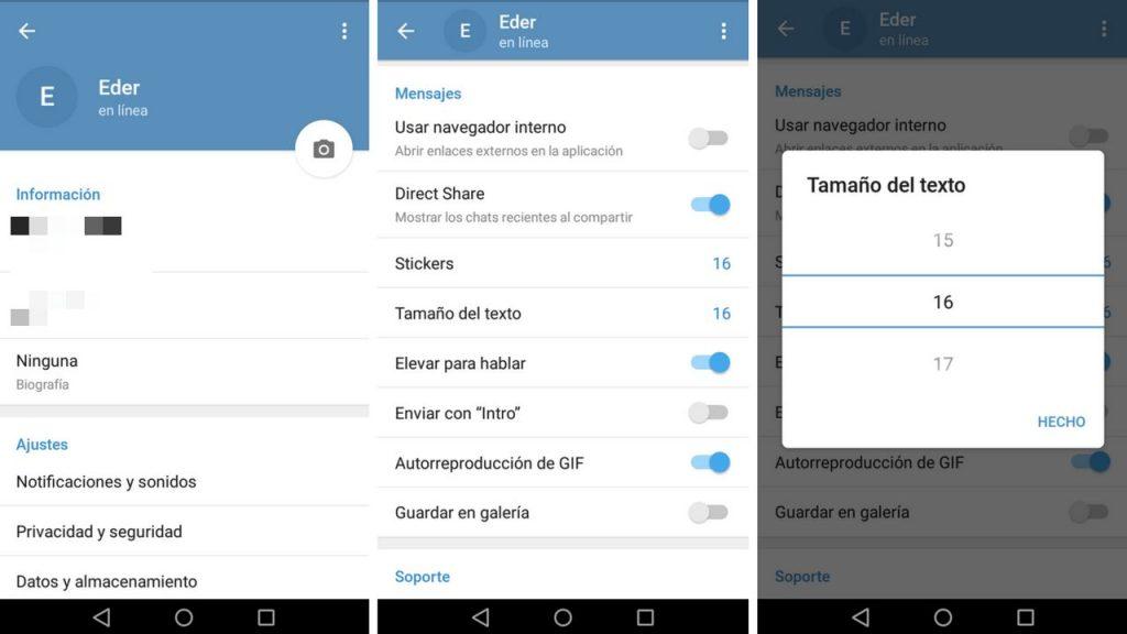 canales de Telegram en español