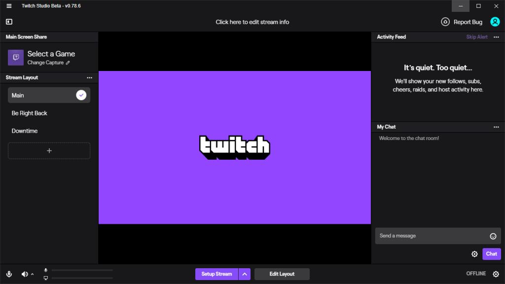 cómo hacer directos en Twitch