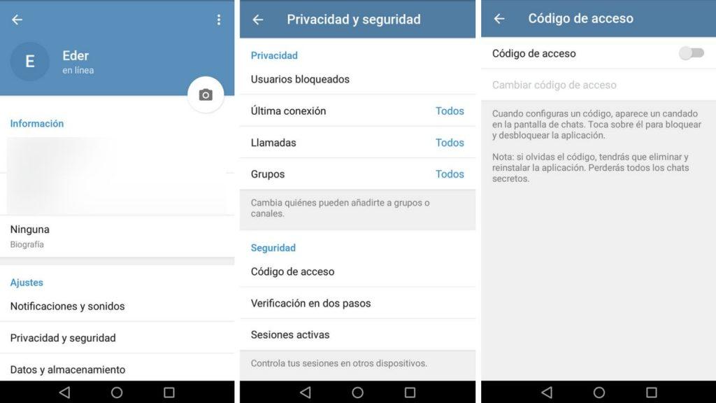 cómo crear canales de telegram en español