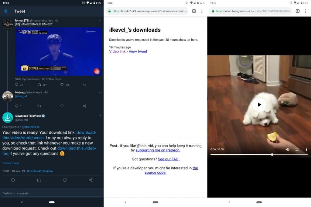 cómo guardar vídeos de twitter