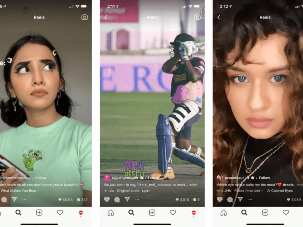 qué son los reels de Instagram